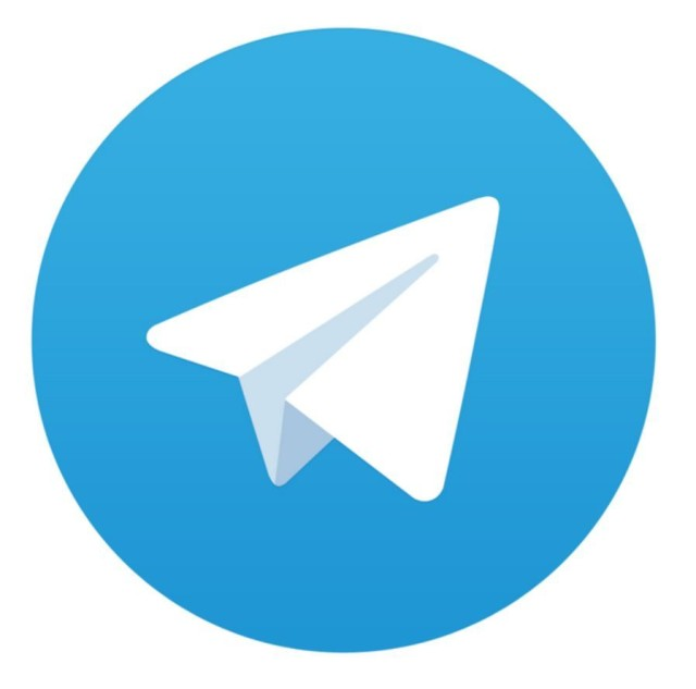 telegram icon 640x633